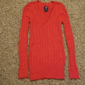 American Eagle womens v neck sweater